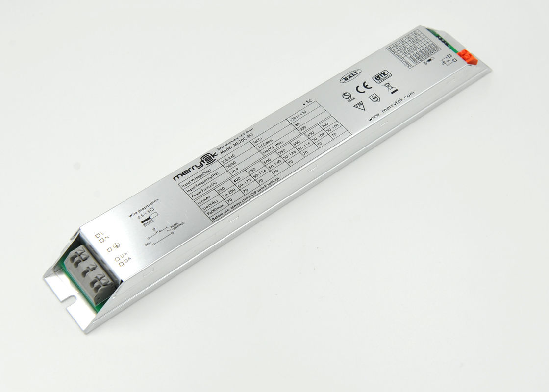 Multi - Output Current DALI Dimmable LED Driver , Super Slim DALI LED Dimmer